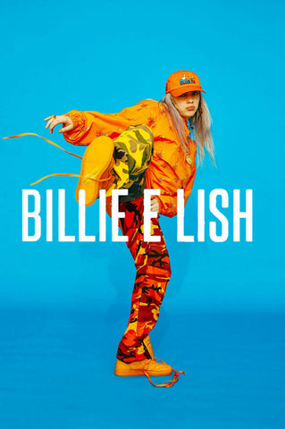 Billie Eilish - Kick - A4 Music Mini Print
