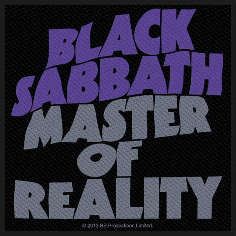 Black Sabbath - Master Of Reality - Patch