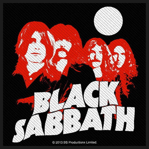 Black Sabbath - Red Portraits - Patch