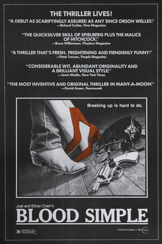 Blood Simple - A4 Movie Mini Print