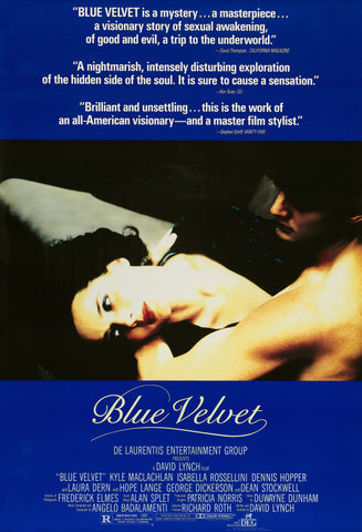Blue Velvet - A4 Movie Mini Print A