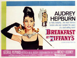 Breakfast at Tiffany's - Audrey Hepburn - Vintage Movie Print B