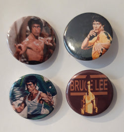 Bruce Lee - Set of 4 Badges