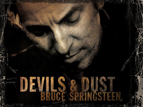 Bruce Springsteen - Devils and Dust - A4 Music Mini Print