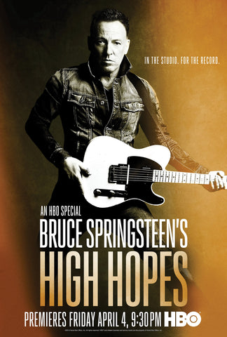 Bruce Springsteen  - High Hopes Promo - A4 Music Mini Print