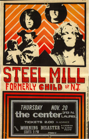 Bruce Springsteen - Steel Mill - A4 Music Mini Print B