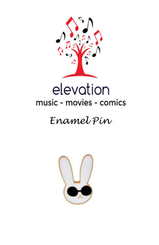 Bunny Rabbit with Sunglasses - Enamel Pin