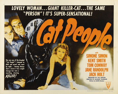 Cat People - 50s B-Movie Classic - Vintage Print B