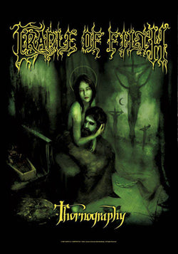 Cradle of Filth - Thornography - A4 Music Mini Print