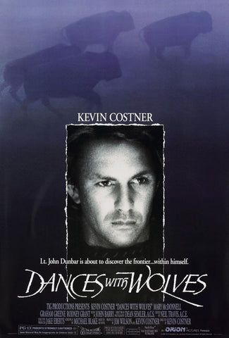 Dances With Wolves - A4 Movie Mini Print