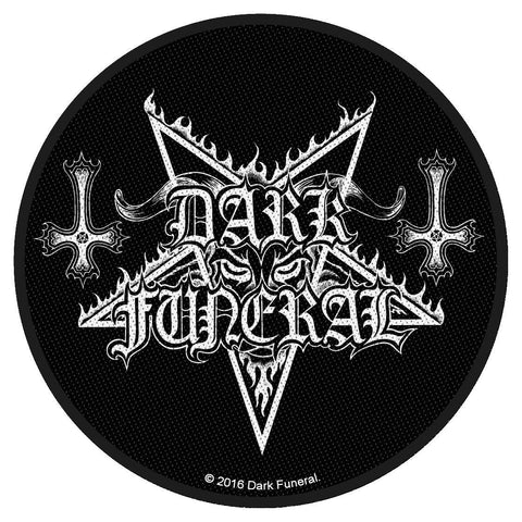 Dark Funeral - Logo - Circular Patch