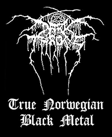 Darkthrone - True Norwegian Black Metal - Patch
