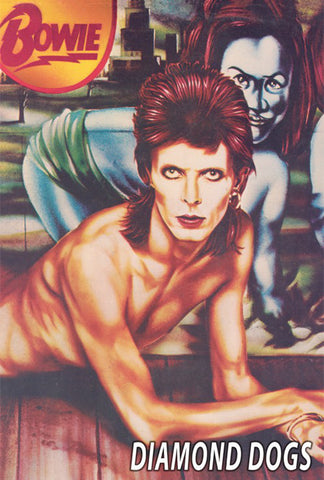 David Bowie - Diamond Dogs - A4 Music Mini Print A