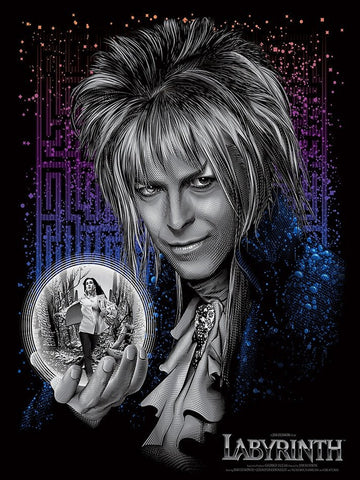 David Bowie - Labyrinth - A4 Movie Mini Print B