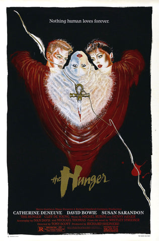 David Bowie - The Hunger - A4 Movie Mini Print