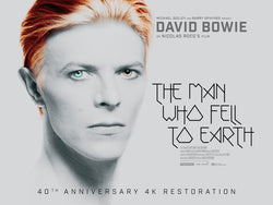 David Bowie - The Man Who Fell to Earth - A4 Movie Mini Print B
