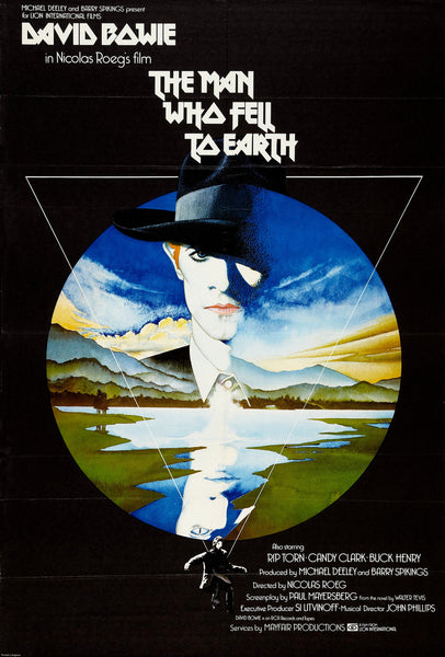 David Bowie - The Man Who Fell to Earth - A4 Movie Mini Print C