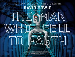 David Bowie - The Man Who Fell to Earth - A4 Movie Mini Print D