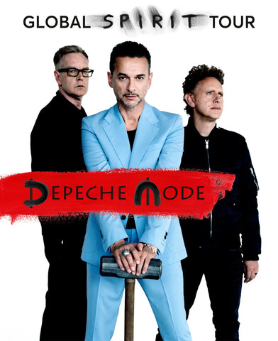 Depeche Mode - Global Spirit Tour - A4 Music Mini Print