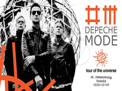 Depeche Mode - Russia 04 - A4 Music Mini Print