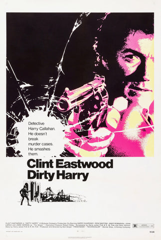 Dirty Harry - Clint Eastwood - A4 Movie Mini Print