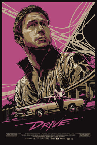 Drive - A4 Movie Mini Print