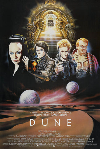 Dune - A4 Movie Mini Print C
