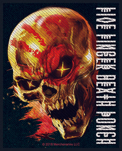 Five Finger Death Punch - 5FDP - And Justice For None - Patch