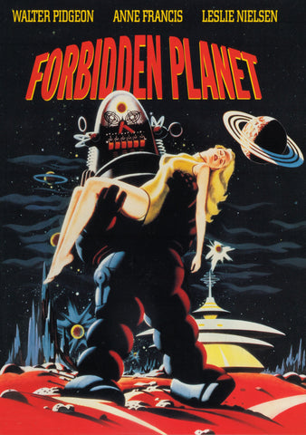 Forbidden Planet - 50s B-Movie Classic - Vintage Print C