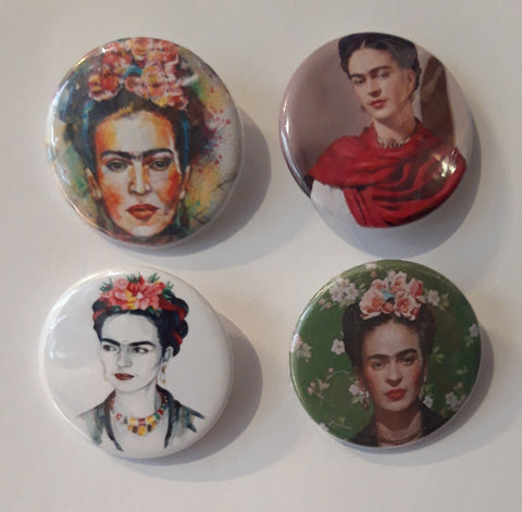 Frida Kahlo - Set of 4 Badges B