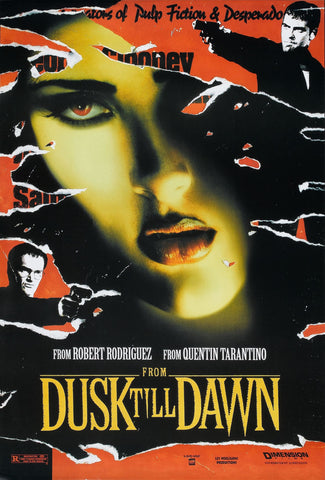 From Dusk Till Dawn - A4 Movie Mini Print B