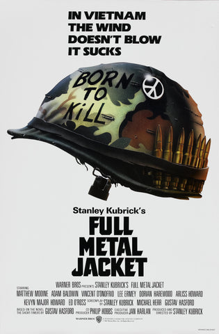 Full Metal Jacket - A4 Movie Mini Print A