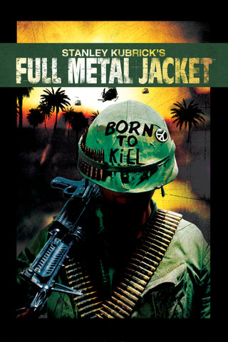 Full Metal Jacket - A4 Movie Mini Print B