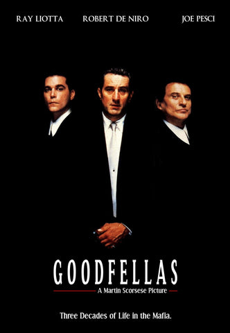 Goodfellas - A4 Movie Mini Print B