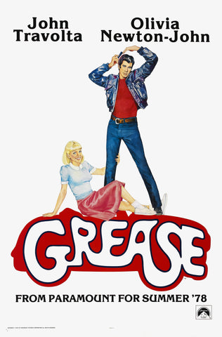 Grease - A4 Movie Mini Print B