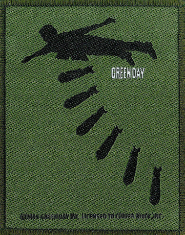 Green Day - Bombs - Patch