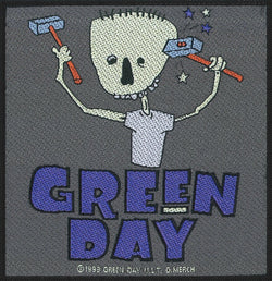 Green Day - Hammer Face - Patch