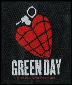 Green Day - Heart Grenade - Patch