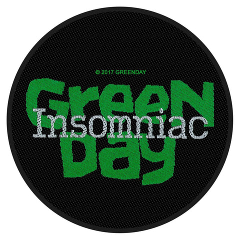 Green Day - Insomniac - Circular Patch