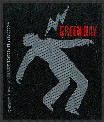 Green Day - Lightning Bolt - Patch