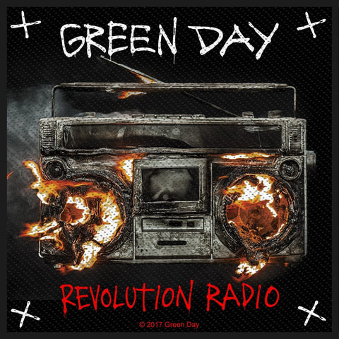 Green Day - Revolution Radio - Patch