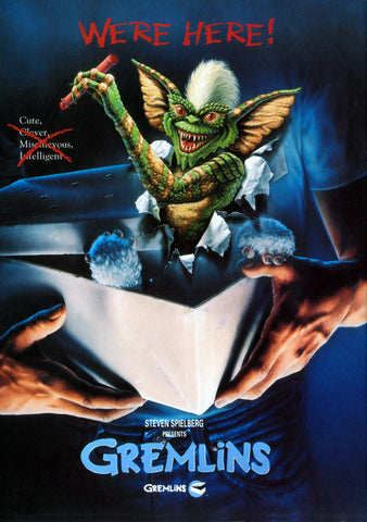 Gremlins - A4 Movie Mini Print A
