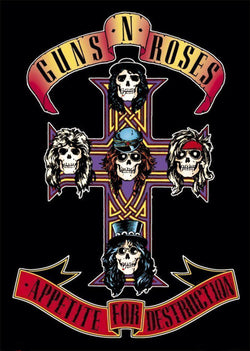Guns 'n' Roses - Appetite for Destruction - A4 Mini Print