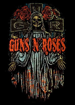 Guns 'n' Roses - Crucifix - A4 Mini Print