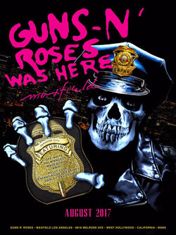 Guns 'n' Roses - Guns 'n' Roses Was Here - A4 Mini Print