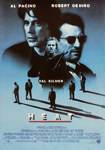 Heat - A4 Movie Mini Print