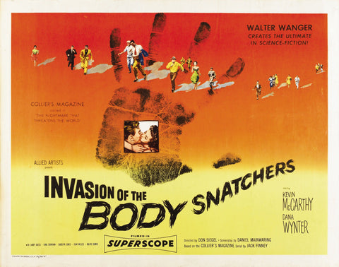 Invasion of the Body Snatchers - 50s B-Movie Classic - A4 Vintage Print C