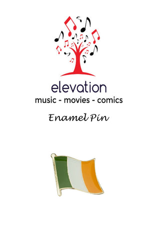 Irish Flag - Tricolour - Enamel Pin