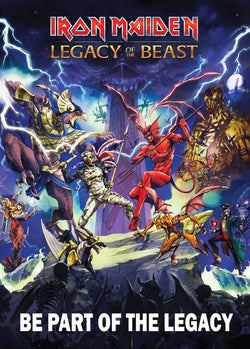 Iron Maiden - Legacy of the Beast - A4 Mini Print