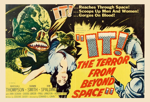 It The Terror from Beyond Space - 50s B-Movie Classic - A4 Vintage Print